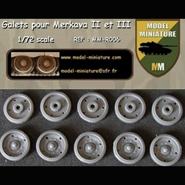 MM-R006   Wheels of Merkava II et III (12 galets) (thumb22113)