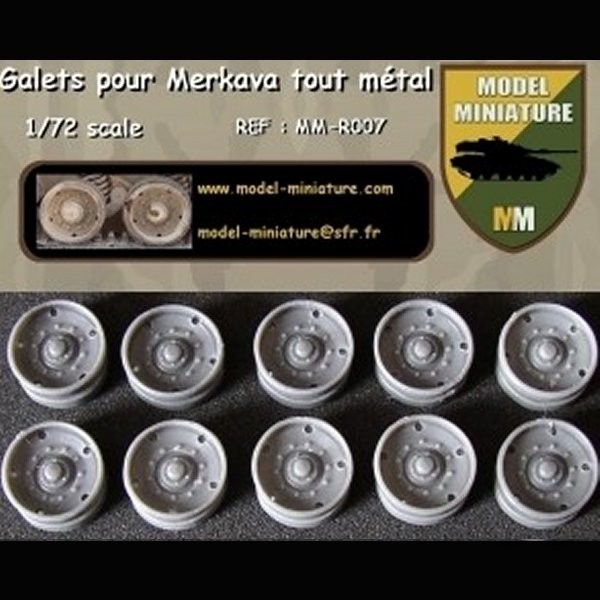 MM-R007   Wheels all steel for Merkava. (12 galets) (thumb22115)
