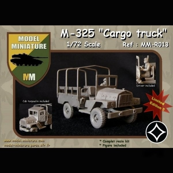 MM-R013   M-325 Nun Nun Cargo truck (thumb22117)