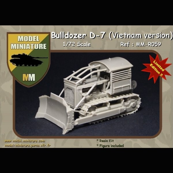 MM-R059   Bulldozer D-7 (Vietnam Version) (thumb22141)