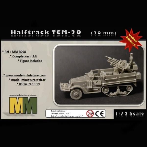 MM-R098   Halftrack TCM-20 (20mm) (thumb22158)