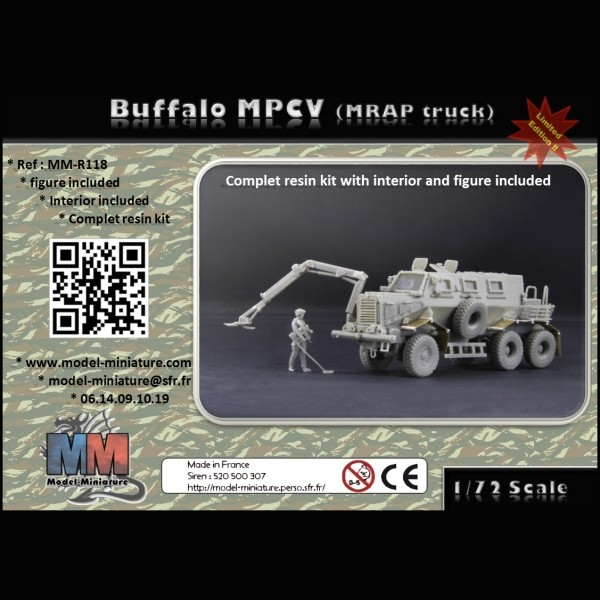 MM-R118   Buffalo MPCV (with 13th Engineer) (thumb22175)