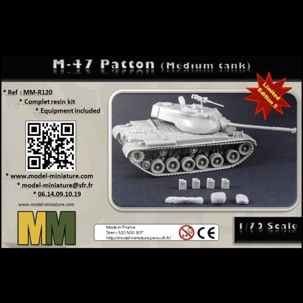MM-R120   M-47 Patton (complet kit) (thumb22183)