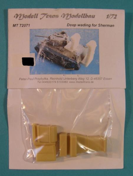 MTrans72071   Deep wading equipment  Sherman (thumb22252)