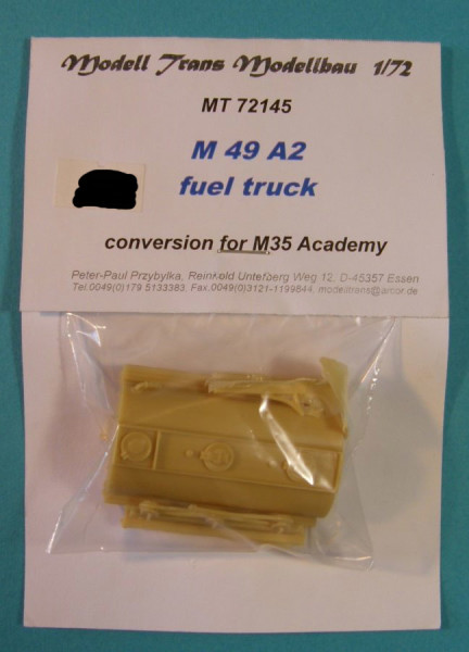 MTrans72145   M49A2 Fuel Truck(Conversion for Academy) (thumb22325)