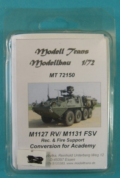 MTrans72150   M1127 RV/ M1131 FSV (Rec. & Fire Support) Conversion for Academy (thumb22446)