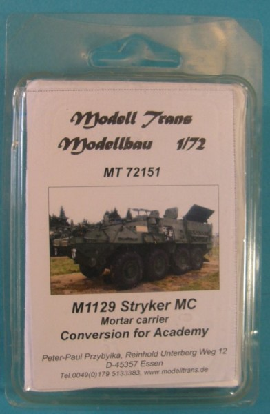 MTrans72151   M1129 Stryker MC (Mortar Carrier) Conversion for Academy (thumb22452)