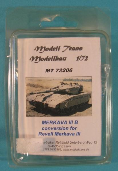 MTrans72206   Merkava III B. Turm mit Zusatzpanzerung.(conversion for Revell) (thumb22335)