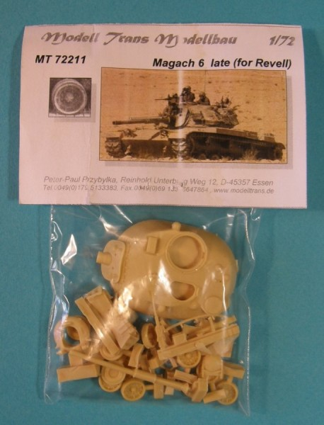 MTrans72211   Magach 6 conversion for Revell (thumb22346)