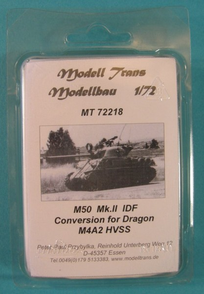 MTrans72218   M50 Mk.II . conversion for  M4A3 (105 mm) HVSS von Dragon (thumb22359)