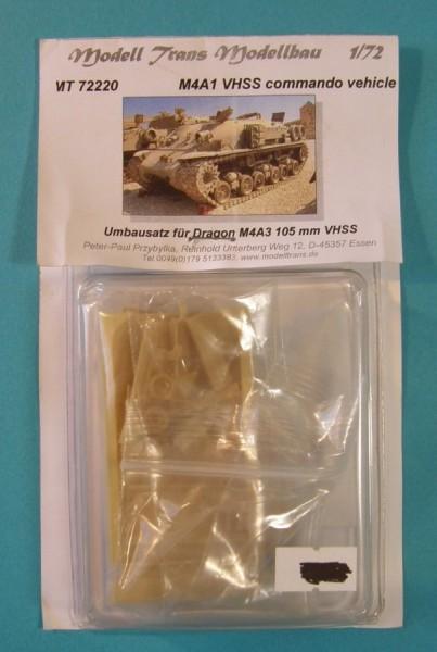 MTrans72220   M4A1 HVSS commando . conversion for  M4A3 (105 mm) Dragon (thumb22364)