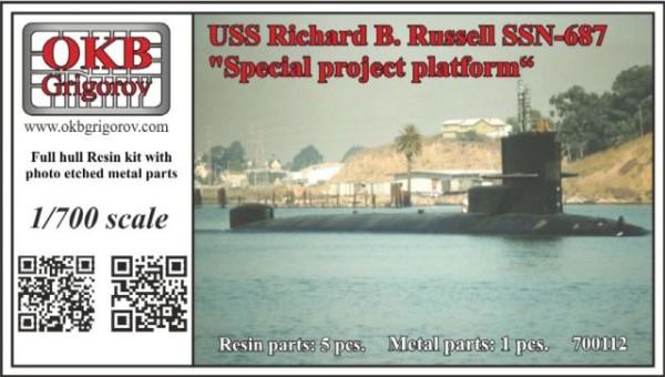"OKBN700112   USS Richard B. Russell SSN-687,  ""Special project platform"" (thumb21702)"