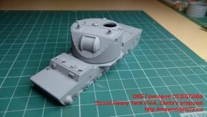 OKBV72059   Soviet Heavy Tank KV-4, Tseits's proposal (attach4 23268)