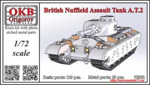 OKBV72062   British Nuffield Assault Tank A.T.2 (thumb25055)