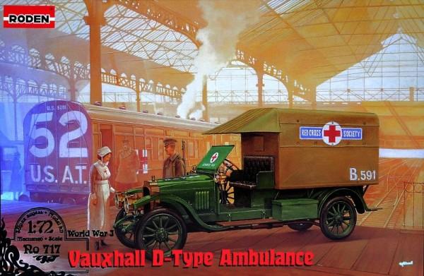 RN717   Vauxhall D-type Staff Ambulance (thumb21950)