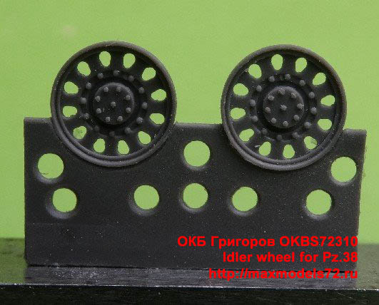 OKBS72310   Idler wheel for Pz.38 (thumb21423)