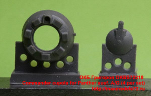 OKBS72318   Commander cupola for Panther ausf. A/G (4 per set) (attach1 21425)