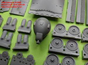 OKBV72058    French Light Tank AMX-40 (attach2 21860)