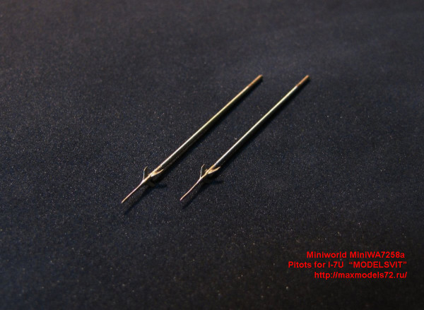"MiniWA7258a    Pitots for I-7U  ""MODELSVIT"" (thumb24179)"