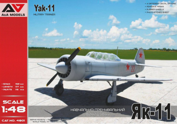 AAM4801    Yak-11 military trainer aircraft (thumb21928)