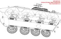 ACE72437   Centauro B1 Italian 105mm wheeled tank (attach10 25445)