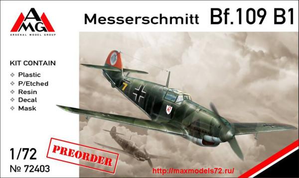 AMG72403   Messerschmitt Bf.109B-1 (thumb24346)