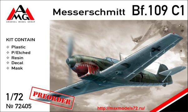AMG72405   Messerschmitt Bf.109C-1 (thumb24358)