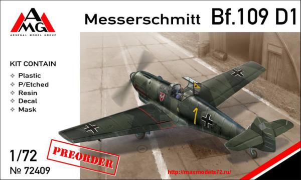 AMG72409   Messerschmitt Bf.109D-1 (thumb24370)