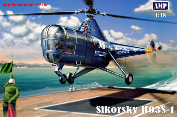 AMP48001   Sikorsky H03S-1 (thumb24398)