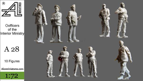 AMinА28 Инженерно-саперный отряд МВД, 1:72, Alex miniatures, шт (thumb22610)