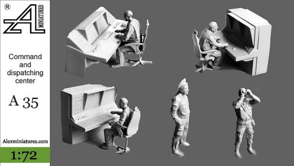 AMinА35 Командно-диспетчерский пункт, 1:72, Alex miniatures, шт (thumb22624)