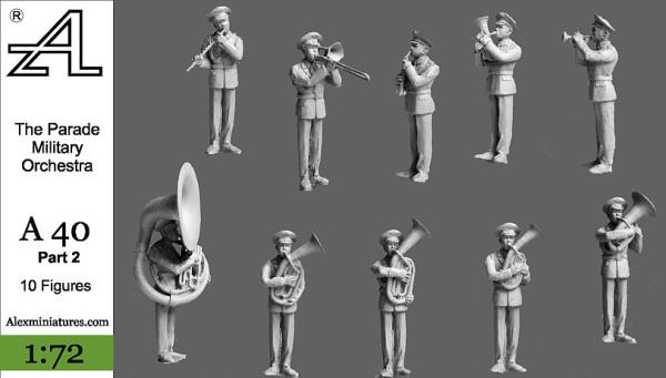AMinА40 Парад Военный оркестр часть 2 (thumb22636)