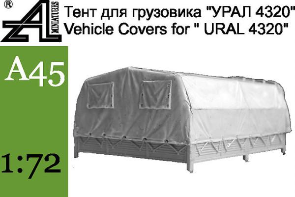 "AMinА45 Тент на грузовик ""Урал"" 4320 (поздний) (thumb22646)"