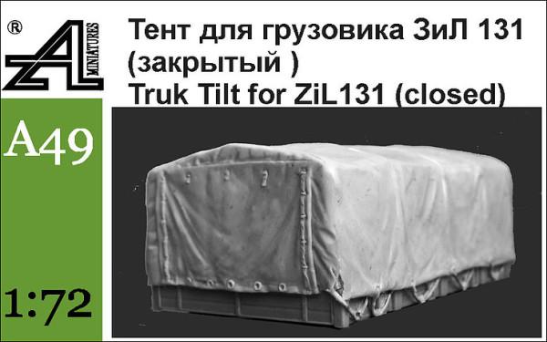AMinА49 Тент для грузовика ЗиЛ 131 (закрытый) (thumb22654)