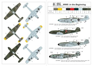 "AR14303   1/144 Messerschmitt Bf 109E ""WWII: in the beginning"" (attach2 24079)"