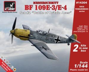 """AR14304   1/144 Messerschmitt Bf 109E """"Battle of Britain Aces"""" (thumb24085)"""