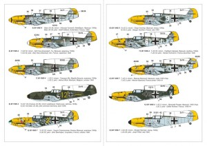 "AR14304   1/144 Messerschmitt Bf 109E ""Battle of Britain Aces"" (attach2 24085)"
