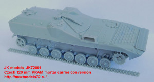 JK72001   Czech 120 mm PRAM mortar carrier (attach2 21987)