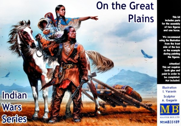 MB35189   On the Great Plains. Indian Wars Series (thumb24466)