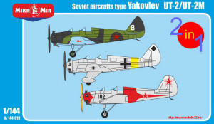 MM144-019   Yakovlev UT-2/UT-2M (2 kits in the box) (thumb24460)