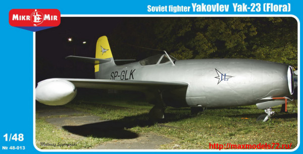 MM48-013   Yakovlev Yak-23 (Flora) Soviet fighter (thumb24416)