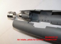 MiniWA4833   Air intake, pitots for Su-9 for «TRUMPETER» (attach5 23146)