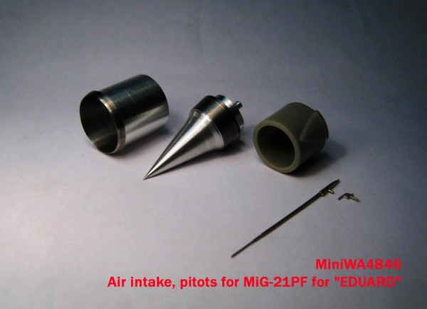 MiniWA4846    Air intake, pitots for MiG-21PF for «EDUARD» (thumb23193)