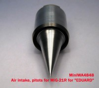 MiniWA4848    Air intake, pitots for MiG-21R for «EDUARD» (attach4 23211)