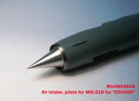 MiniWA4848    Air intake, pitots for MiG-21R for «EDUARD» (attach5 23211)