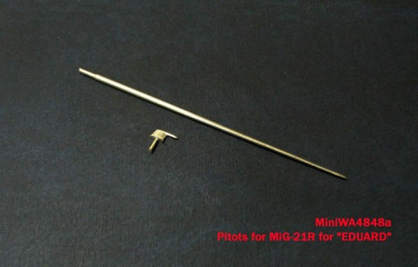 "MiniWA4848a    Pitots for MiG-21R for ""EDUARD"" (thumb23218)"