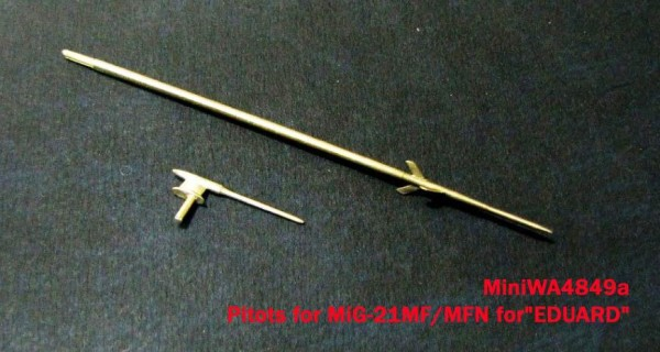 "MiniWA4849a    Pitots for MiG-21MF/MFN for""EDUARD"" (thumb23227)"