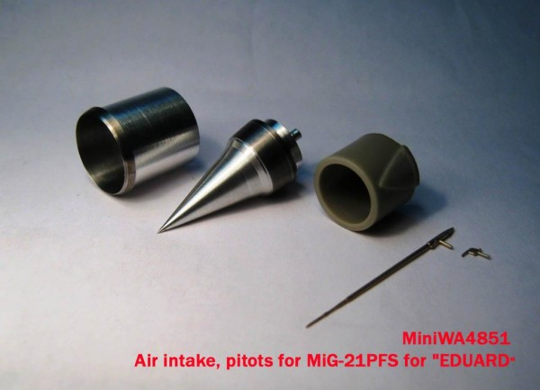 "MiniWA4851a    Pitots for MiG-21PFS for ""EDUARD"" (thumb23240)"