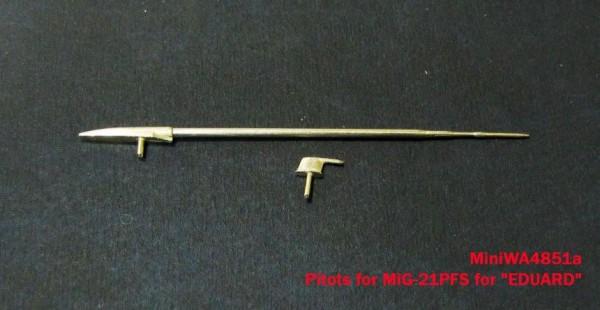 """MiniWA4851    Air intake, pitots for MiG-21PFS for """"EDUARD"""" (thumb23238)"""