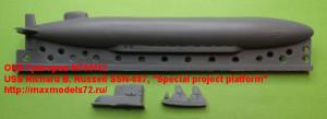 "OKBN700112   USS Richard B. Russell SSN-687,  ""Special project platform"" (attach1 21702)"